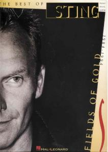 Sting-Best of Sting-Fields Of Gold (book)