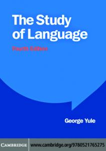 Study of language Yule