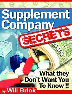 Supplement Company Secrets-Brink