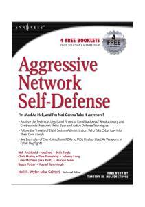 Syngress - Aggressive Network Self-Defense