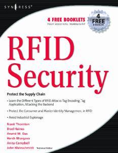 Syngress - RFID Security