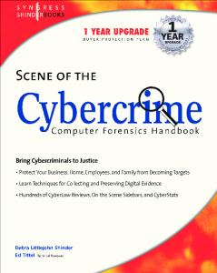 Syngress - Scene of the Cybercrime - Computer Forensics Handbook