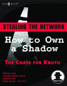 Syngress - Stealing the Network - How to Own a Shadow