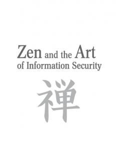 Syngress - Zen and the Art of Information Security