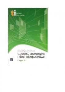 systemy operacyjne i sieci komputerowe Cz II