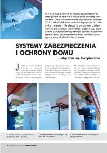 Systemy zabezpieczenia i ochrony domu