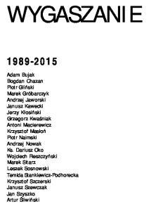 Szewczak J. - Wygaszanie Polski 1989 - 2015