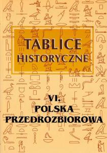 Tablice historyczne 6 - Polska przedrozborowa
