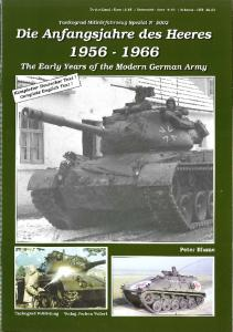 Tankograd 5002 - The Early Years of the Modern German Army