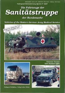 Tankograd 5007 - Vehicles of the Modern German Army Medical Service