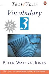 Test Your Vocabulary 3 with key PENGUIN BOOKS