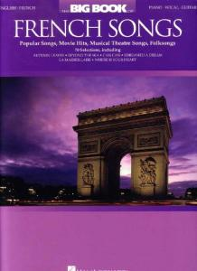 The Big Book of French Songs - 298 PVG