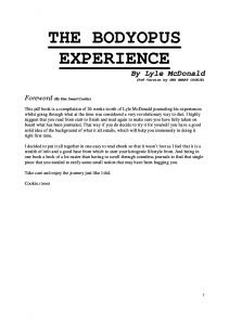 The Bodyopus Experience-Mcdonald