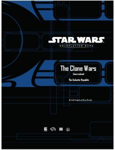 The Clone Wars Sourcebook - The Galactic Republic