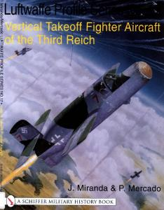 The Luftwaffe Profile Series 17 - Vertical Takeoff Aircraft of the Third Reich