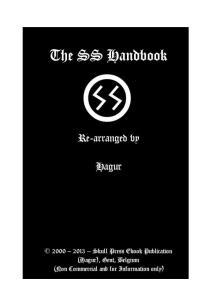 The Waffen SS Handbook