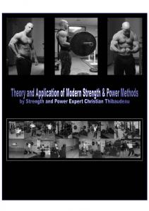 Theory and Application of Modern Strength _ Power Methods 2-Thibaudeau