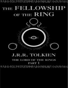 Tolkein, J. R. R. - The Lord of the Rings - (1) The Fellowship of the Ring