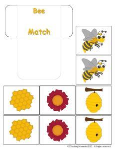 Tot Book- Bees