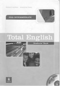 Total English Pre-intermediate [Students Book]