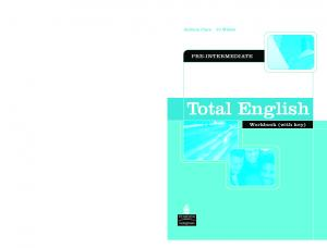 Total English Pre-intermediate [Workbook]