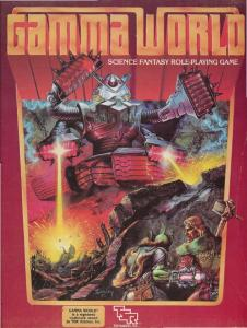TSR 7010 Gamma World (2nd Edition)