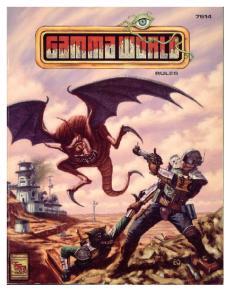 TSR 7514 Gamma World (4th Edition)