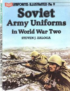Uniforms Illustrated 09 - Soviet Army Uniforms in World War Two