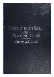 United States rifles and machine guns_1917