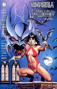 Vampirella & Shadowhawk - Creatures Of The Night 01