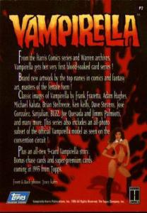 Vampirella - Visons Of Vampirella (Trading Cards)