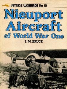 Vintage Warbirds Illustrated 10 - Nieuport Aircraft of WW-I