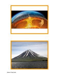 Volcano Cards