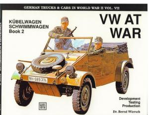 VW at War Kubelwagen, Schwimmwagen Vol II