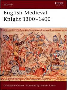 Warrior 058 - English Medieval Knight 1300-1400 (e-book)