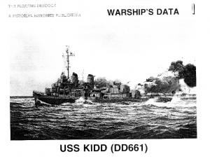 Warships Data 01 - USS DD-661 Kidd