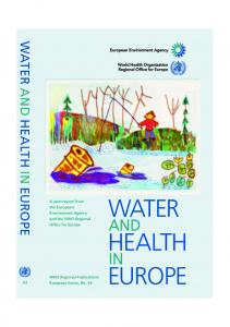 Water in Europe _WHO