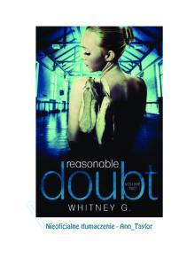 Whitney G Reasonable Doubt 02 PL