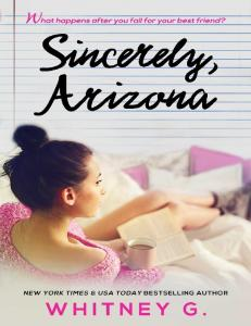 Whitney G Williams (Sincerely Carter 1 5) Sincerely Arizona (ang)