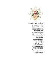 Wiersze o swietach 2