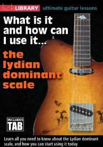 WII Lydian Dominant Tab Book