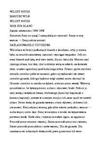 Wilk Mariusz - Wilczy notes