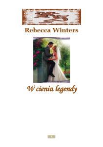 Winters Rebecca W cieniu legendy
