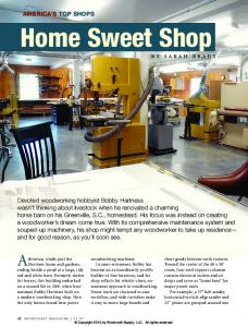 Woodcraft Magazine - Americas Top Shops 2011