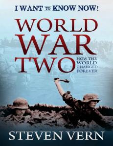 World War Two, How the World Changed Forever