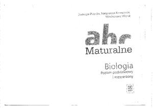 WSiP - ABC maturalne. Biologia
