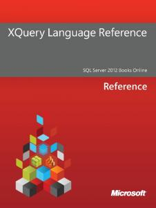 XQuery Language Reference