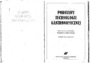 Zalewski S - Podstawy technologii gastronomicznej. wyd 3