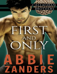 Zanders Abbie - First and Only (Callaghan Brothers 02) -(ang