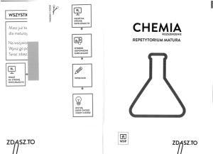 zdasz.to. Chemia. Rozszerzenie. Repetytorium. Matura 2015